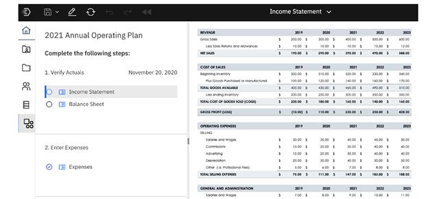 IBM Planning Analytics Workspace Release SC57