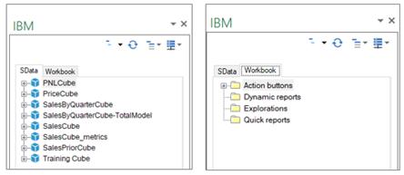 New Task Pane APIs in IBM Planning Analytics for Excel
